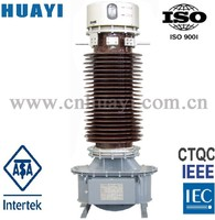66kV live tank and dead tank current transformer oil immersed post type outdoor
