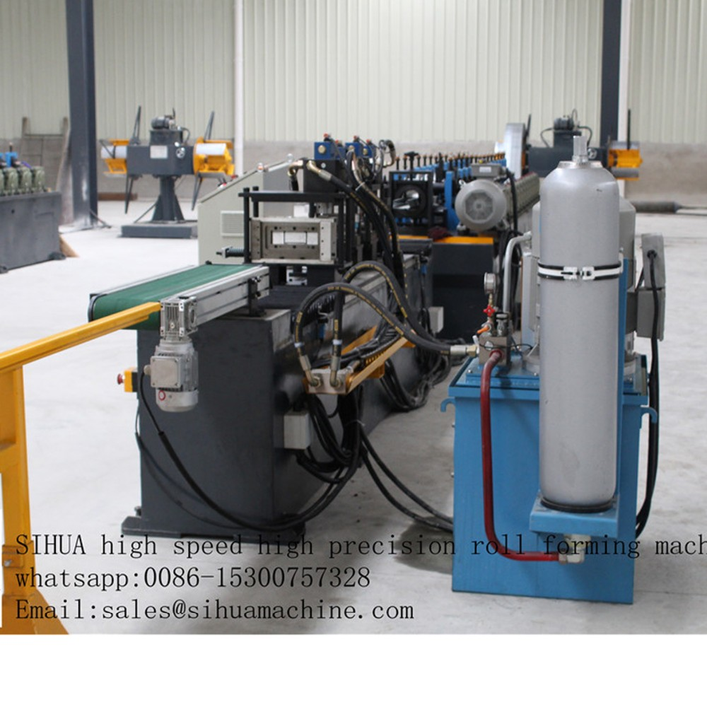 Italian technology Germany quality stud and track frame cold roll forming machine china price