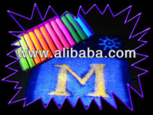 Blacklight UV Reactive Chalks