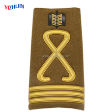 Military Accessory Custom Logo Exquisite Shoulder Boards Security Epaulette