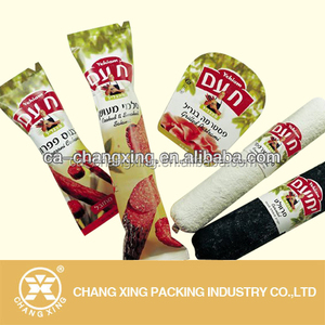Good quanlity flowing wrap food grade plastic packaging roll film/sachet packaging film