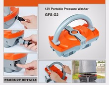 GFS-G2-high pressure portable camping shower with 6m hose