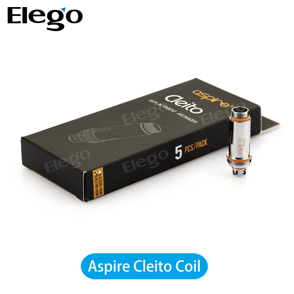 100% Original Hot Selling Aspire Cleito Coil Nautilus BVC/X All In Stock Wholesale by Elego