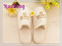 Guestroom and home terry towelling high quality hotel disposable slipper