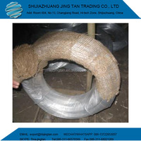 0.89mm 50Kg Roll Weight Galvanized Iron Binding Wires