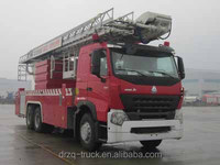 Sinotruk Aerial Platform Fire Truck 6*4 for fire fighting