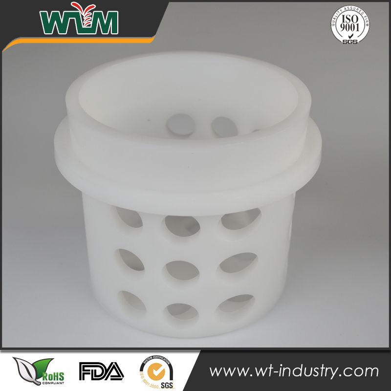 11mm Thick Wall Nylon+GF30 Injection Molded Plastic Parts for Water Tank Tube