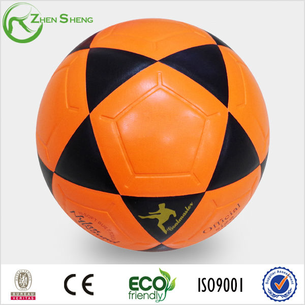 custom color laminated soccer