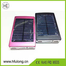 2016 New Waterproof 30000mah solar power bank dual usb external battery solar charger powerbank for iphone