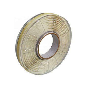 Edge perforated steel reinforced tape