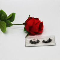 New styles magnatic strip false lashes 3d silk lash synthetic eyelash