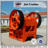 Used in quarry primary stone jaw crusher