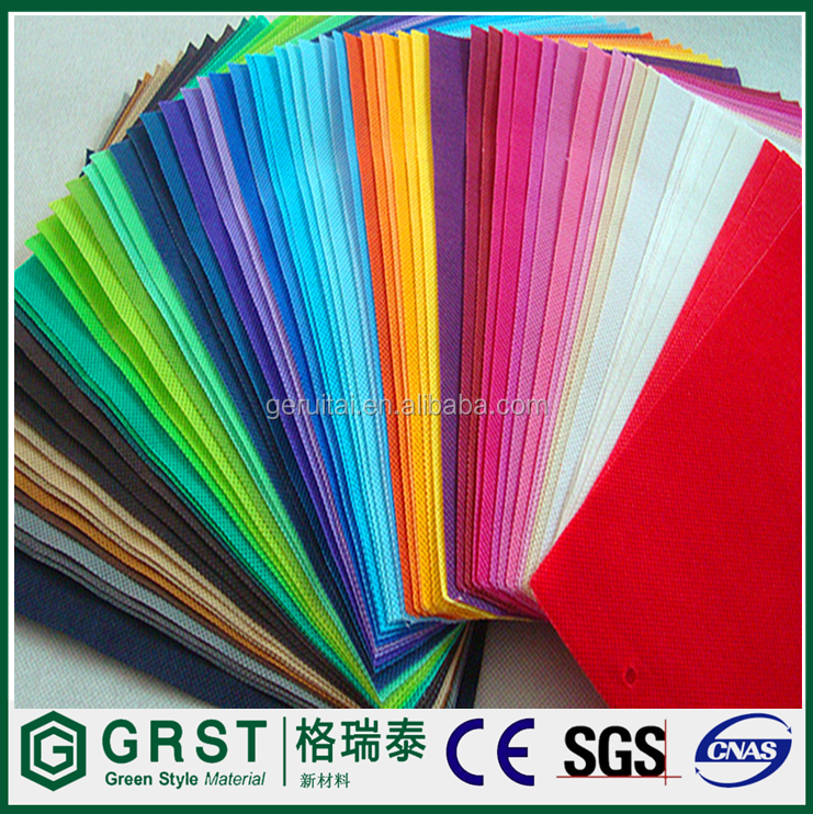 Polypropylene material pp spunbond nonwoven fabric for pp bag china supplier low price