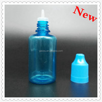 long thin tip plastic dropper bottle&Fine top cap 30ml PET dropper bottle plastic bottle Manufacturer!