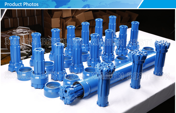 DTH Reverse circulation Bits Hammers for water well drilling RC542 RC543 RC545 RC547