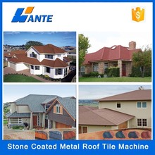 Low Price Stone coated step tiles roofing sheets in Lagos Nigeria