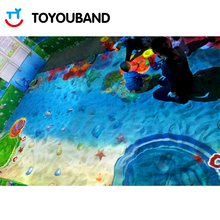Fun and interesting playground 3D interactive sandpit projection system