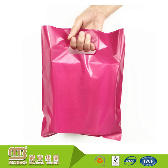 Recyclable Custom Color Die Cut Extra Thick 2 Mil Biodegradable Hdpe/Ldpe Party Goody Bags