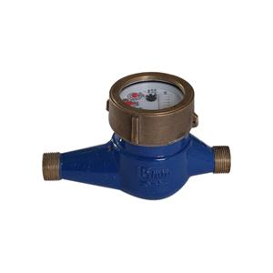 Semi-dry water meter semi dry seedless menlon