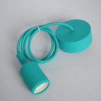 Silicone Cloth DIY Cord Kit silocone pendant lamp silicone ceiling rose