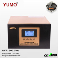 Exclusive 100VA 100KVA YUMO 140V 250VAC 220V 110V Digital LCD 3 phase 3 plug Automatic video cam stabilizer
