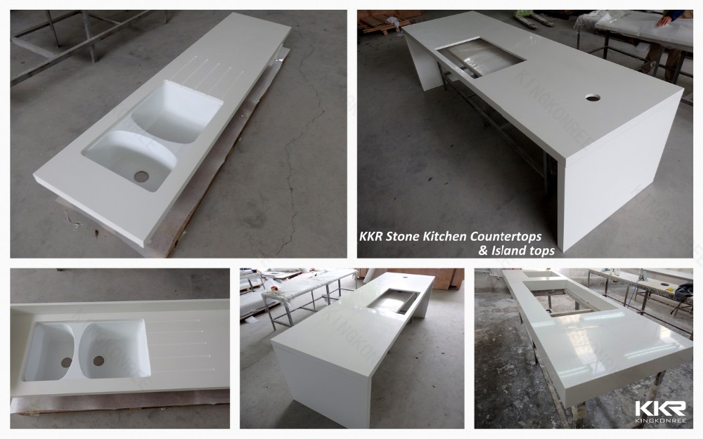 Bathroom Countertops Product : Custom sizes bathroom vanity sink countertops