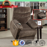 Work Well classical vibrator electric lift motor fabric PU leather recliner sofa L91491