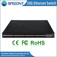 Factory price multilayer switching network hubs 48 ports switch