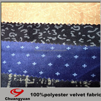 Italian Fashion 100% Polyester Fabric Names Various Color Suit Fabric