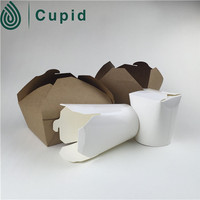Take out paper food packaging box
