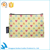 Cute yellow Mickey mouse cosmetic bag