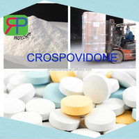 High quality low price chemical cross-linked povidone powder for tablet /pill making