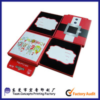 cardboard paper wholesale gift cards box