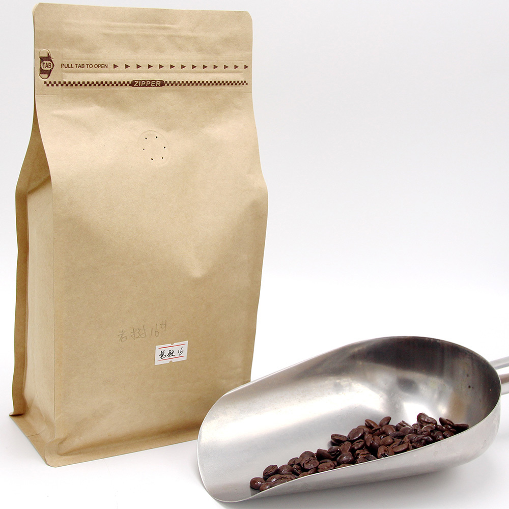 Laos Arabica coffee, roasted coffee beans