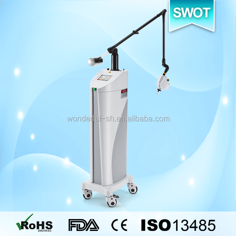 CO2 fractional laser multifunctional beauty salon care tools and equipment