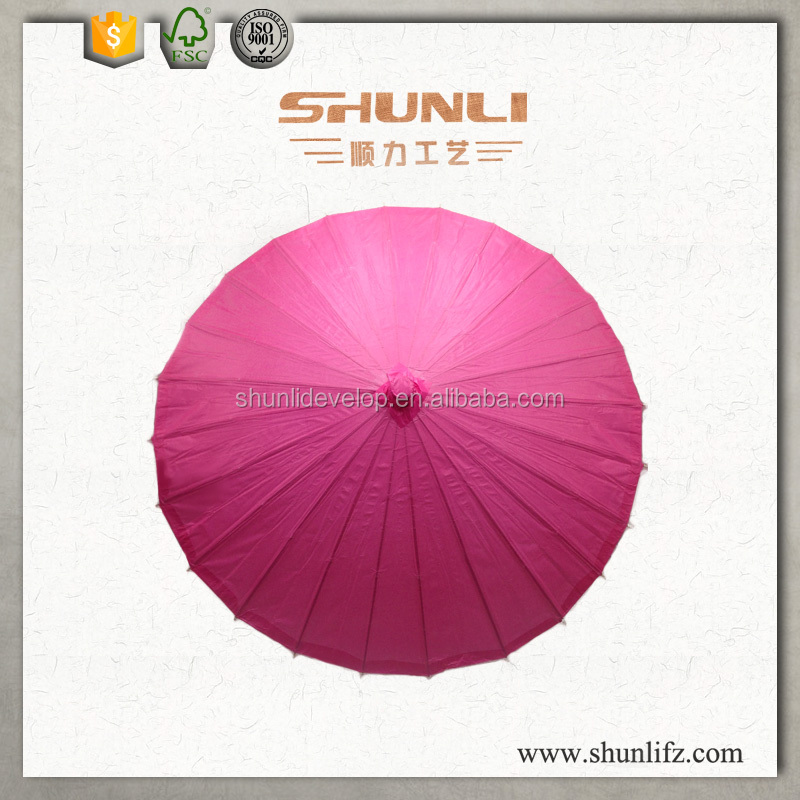 Chinese paper wedding umbrella