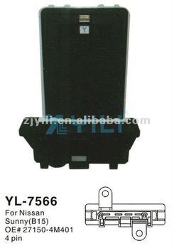 Nissan Blower Motor Resistor Oe 27150 4m401 View Nissan