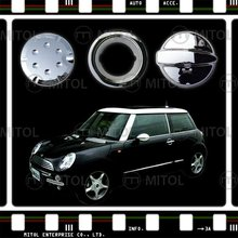 For Mini Cooper 01-06 Chrome Tank Cover Fuel Cap