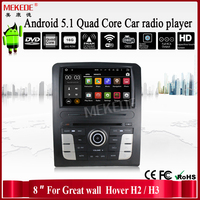 Quad core Android 5.1.1 Car DVD player for Great Wall hover H2/H3 car radio stereo with wifi BT GPS