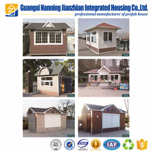 New style mobile sentry box guard house