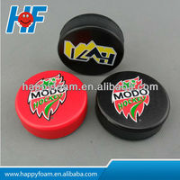 pu foam ice hockey stress ball toy ,ice puck stress ball