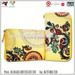 Holiday best gift item multipurpose genuine leather lady wallets/ lady clutch bag/ wallet for iphone