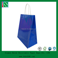 2015 Colorful Gloss Laminated Paper Bags