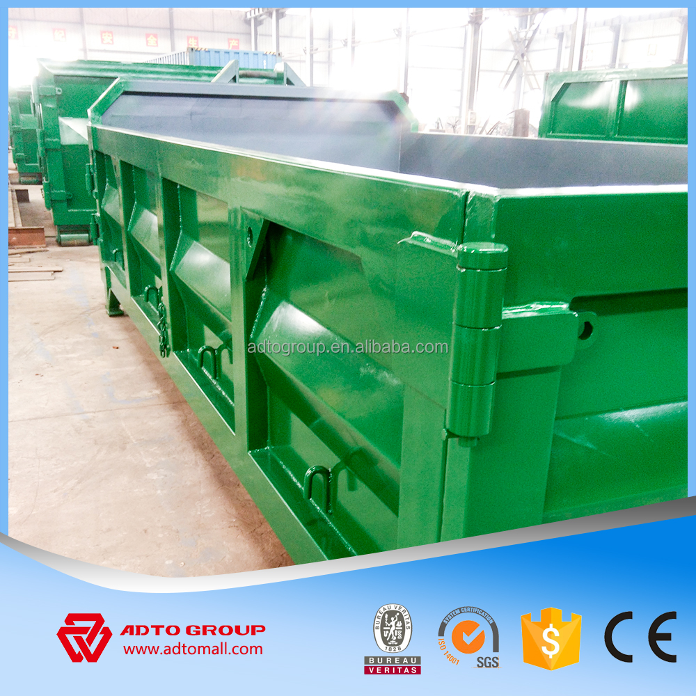 factory price roll-on roll-off bin detachable container truck bin from China manufacturer