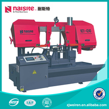 High Speed Scroll Horizontal CNC Mini Metal Cutting Band Saw For Timber Cutting