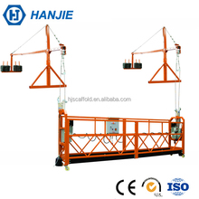 Aerial building cleaning suspended mechanism gondola hanging scaffold