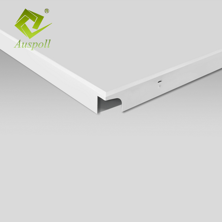 Fire-proof Metal Panel Aluminum Clip-in Ceiling With SGS
