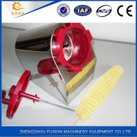 HOT SALE potato cutter machine/electric tornado potato cutter/potato ribbon cutter