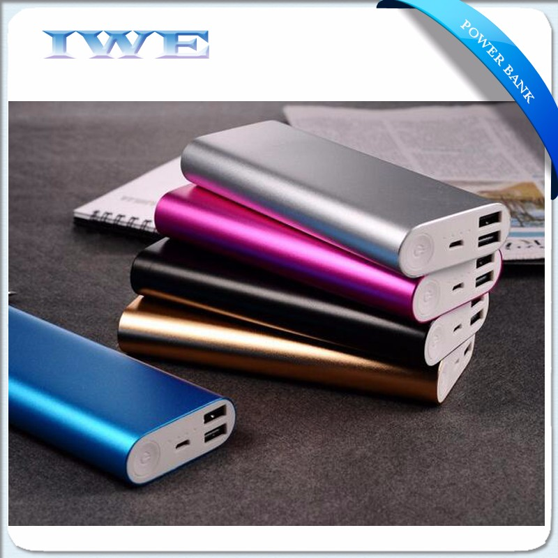 New Products 2017 phone accessories mobile Cheap 2 usb output Power Banks 10000Mah for iPhone,Samsung,iPad power banks