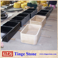 Rectangular shape natural stone sink and basin